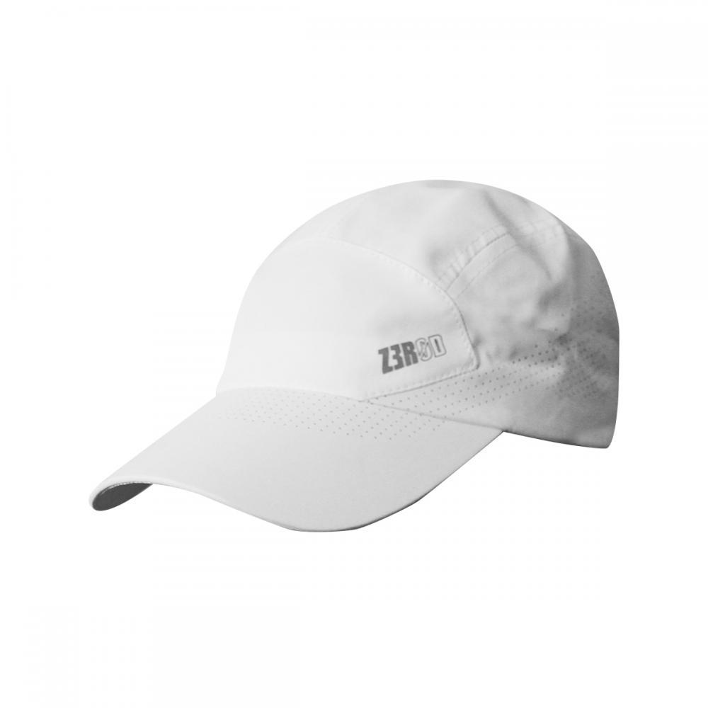 ZEROD RUNNING CAP        WHITE