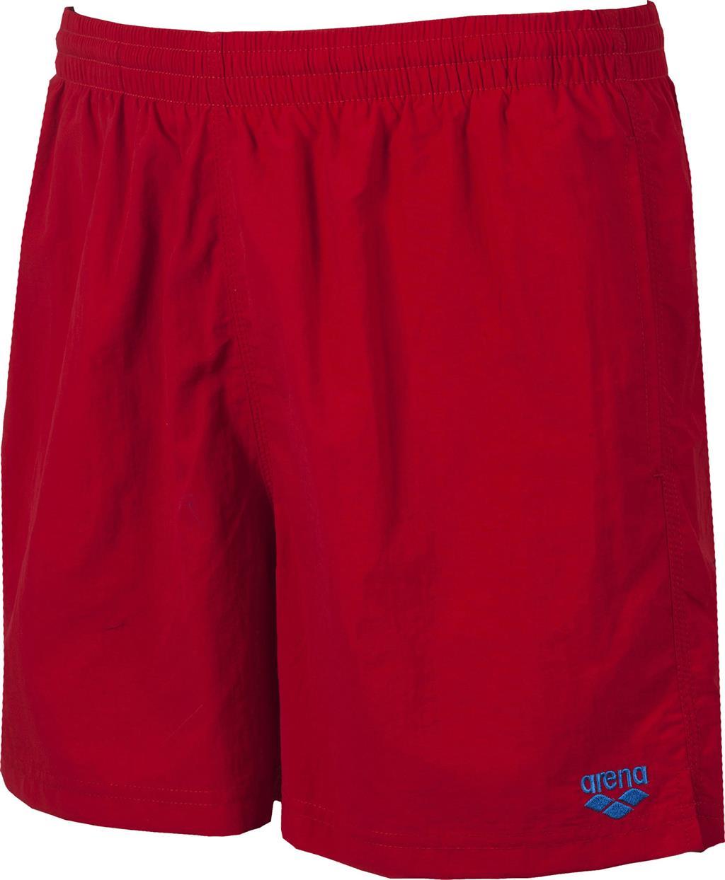 ARENA BADESHORT BOXER    SHINY RED/PIX BLUE