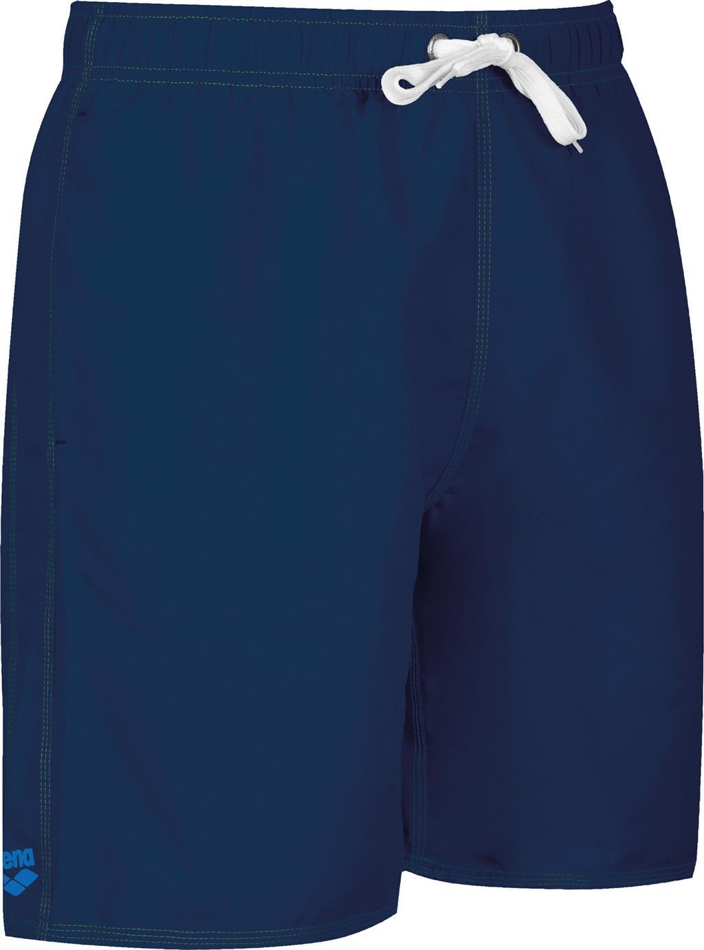 ARENA BADESHORT BOXER    NAVY/PIX BLUE