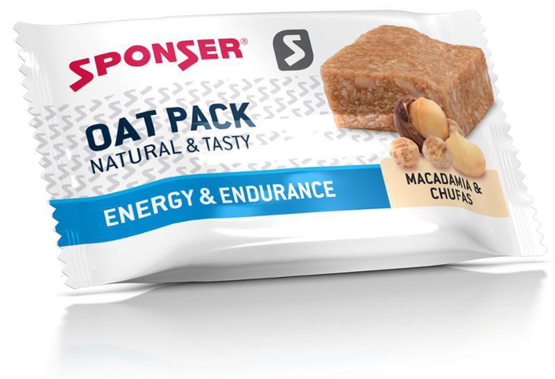 SPONSER Oat Pack Hafer   Riegel Macadamia Nuß