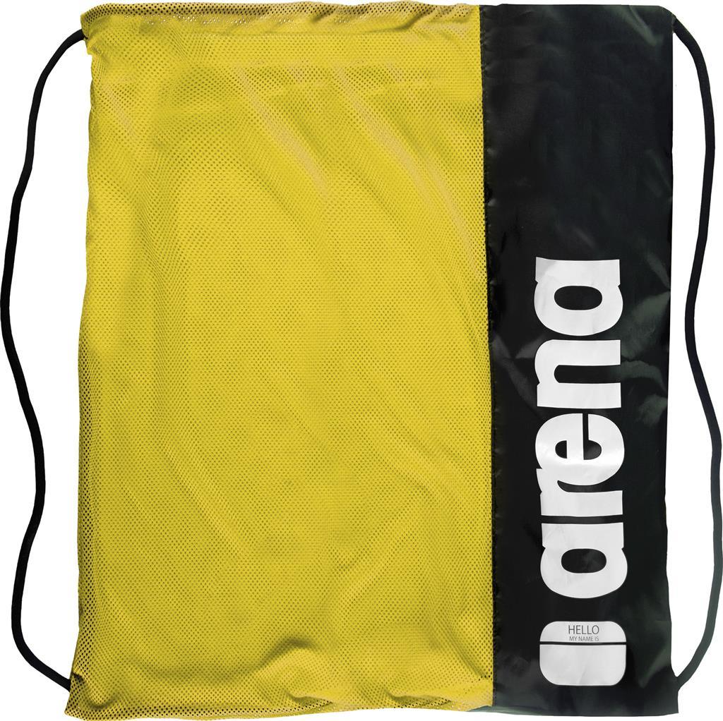 ARENA TEAM MESH BAG      FLUO YELLOW/BLACK