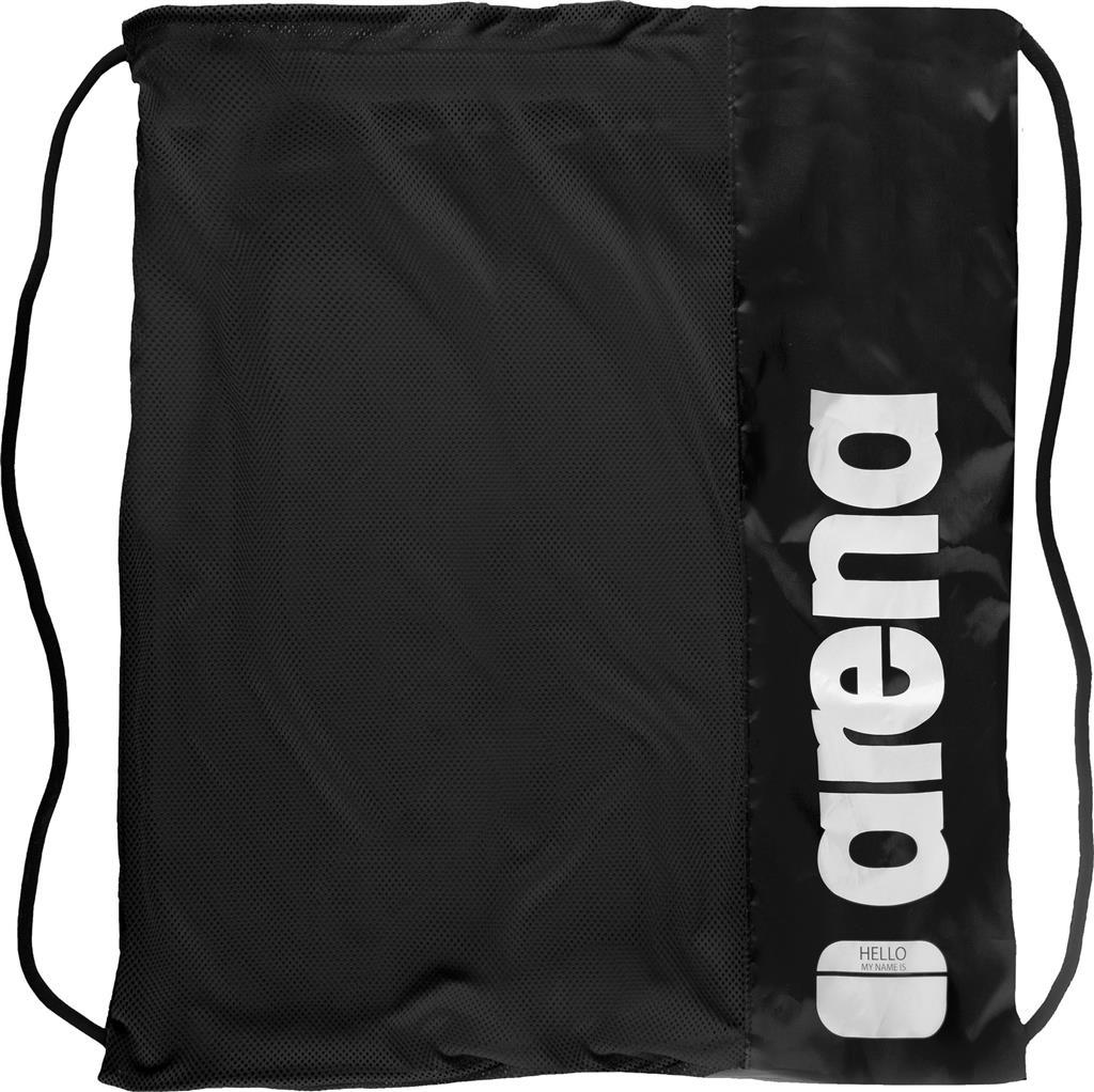 ARENA TEAM MESH BAG      FLUO BLACK-BLACK