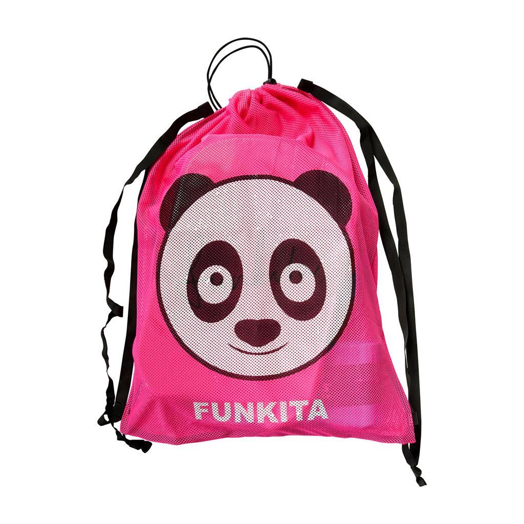 FUNKITA MESH BAG         AQUA PANDA