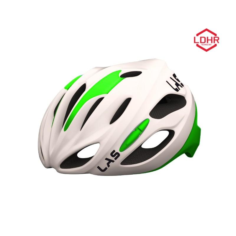 Helm COBALTO small       54-59 weiß/fluo green