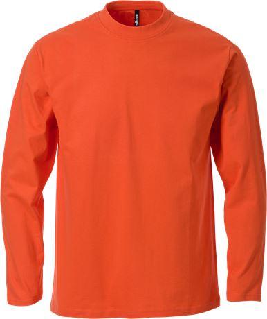 ACODE HERREN T-SHIRT     LANGARM orange