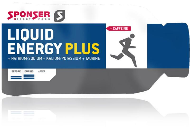 SPONSER Gel Beutel 35g Energy PLUS koffein