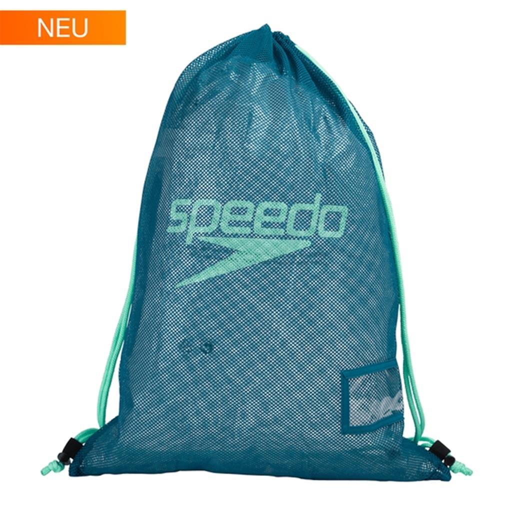 SPEEDO MESH BAG          BLUE/GREEN
