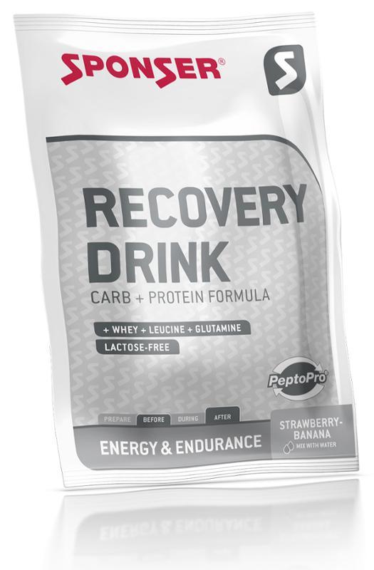 SPONSER RECOVERY DRINK   PULVER ERBEERE/BANANE