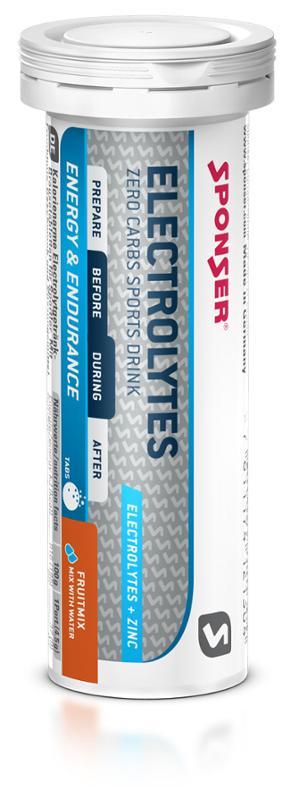 SPONSER ELEKTROLYT TABS  FRUCHTMIX 10 Tabs/45g