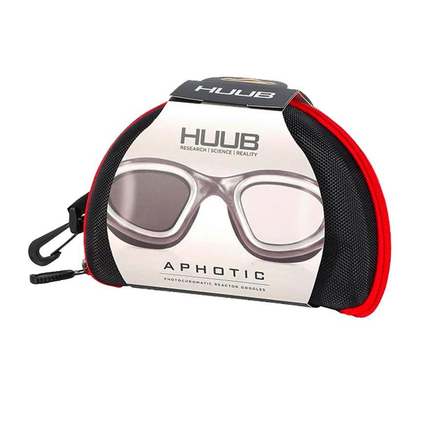 HUUB APHOTIC BLACK/RED   PHOTOCHROMATIC