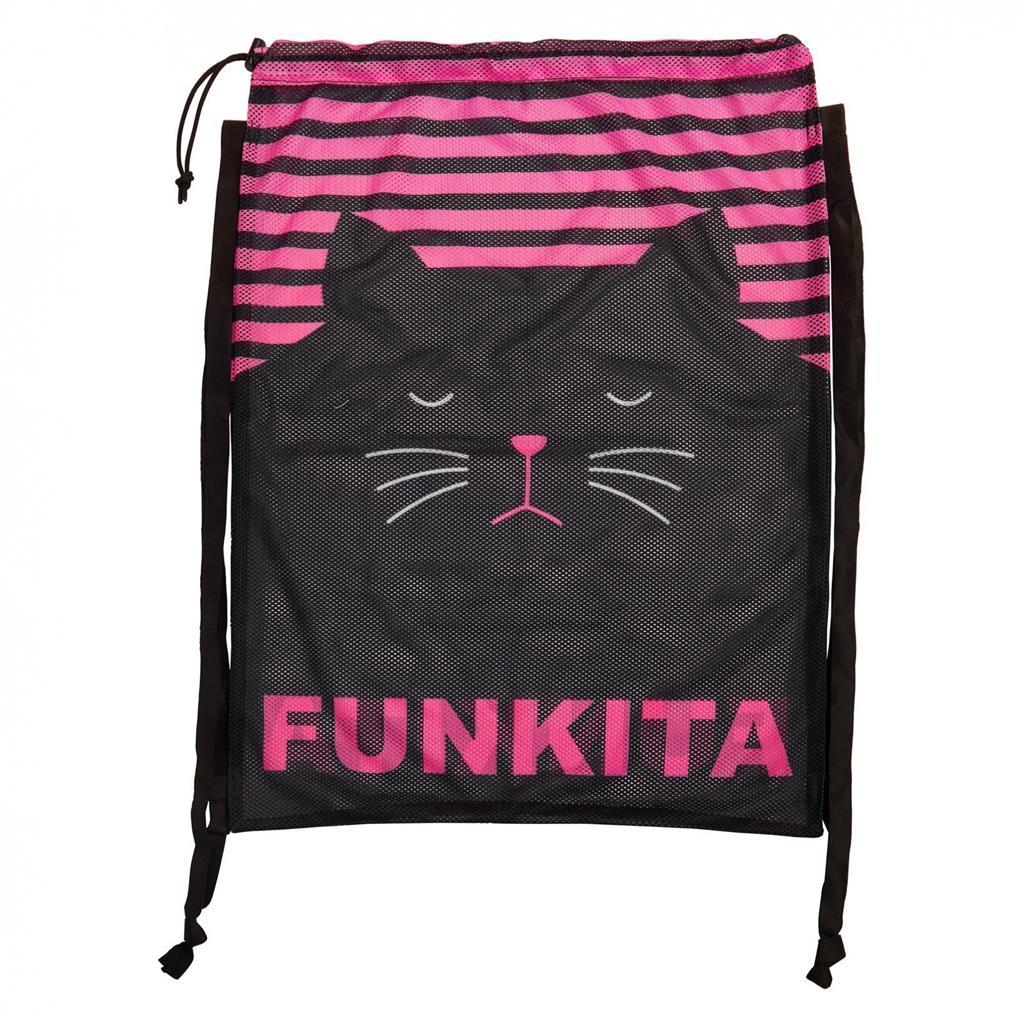 FUNKITA MESH BAG         CRAZY CAT