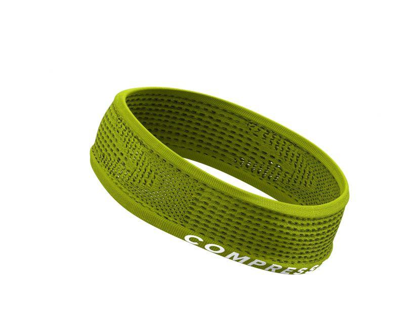 COMPRESSPORT ONOFF       THIN Headband lime
