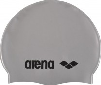 ARENA BADEHAUBE SILBER