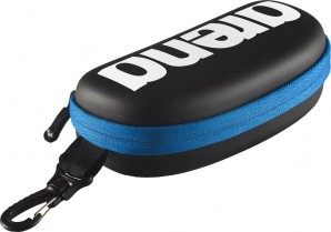 ARENA GOGGLE CASE BLACK/WHITE/ROYAL