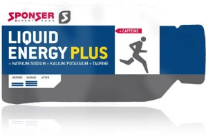 SPONSER Gel Beutel 35g Energy PLUS koffein