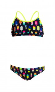 Funkita Girls Racerback  Frosty Fruits