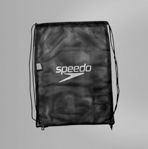 SPEEDO MESH BAG SCHWARZ