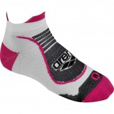 ARENA BIKE LC SOCKS      WHITE-FUCHSIA