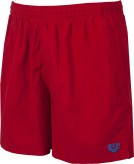 ARENA BADESHORT BOXER    SHINY RED/PIX BLUE