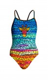 FUNKITA GIRL BADEANZUG   Scorching Hot / DE140