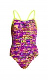 FUNKITA GIRL BADEANZUG   Dotty Dash