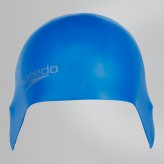 SPEEDO BADEHAUBE PLAIN   MOULDED BLUE/ROYAL